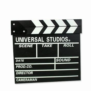 iSFun居家裝飾 電影道具木製開麥拉板