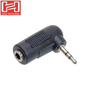 美國HOSA鍍金音源線轉接器TECHNOLOGY 3.5mm(母)轉2.5mm(公)耳機 麥克風轉接頭GMP-467