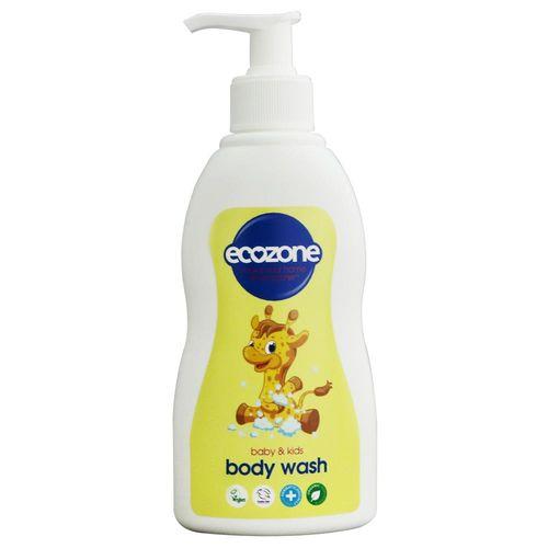 【ECOZONE 愛潔森】天然有機嬰兒沐浴露300ml(潔淨抗敏)