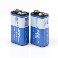 Kamera 充電式鋰電池 for 9V(400mAh)-2入