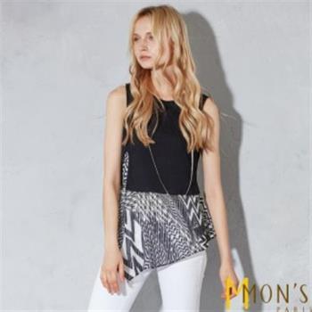 MONS時尚雙面穿造型上衣