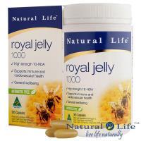 澳洲Natural Life頂級蜂王漿1000mg(365顆)(1入)嚐鮮組