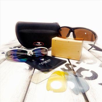 美國TX-HAWK全機能太陽眼鏡全配組