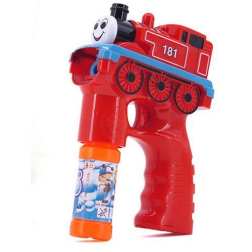 【17mall】兒童玩具電動聲光音樂火車泡泡槍附贈泡泡水