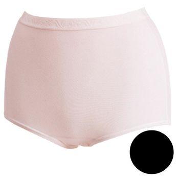 任-【華歌爾】新伴蒂內褲M-3L高腰三角款(經典黑)