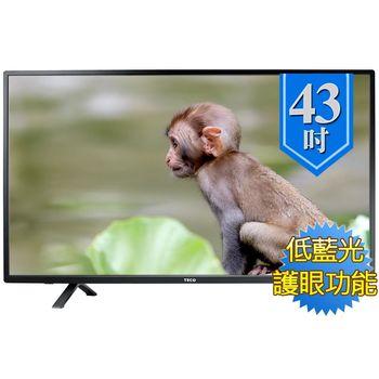 東元 43吋 顯示器+視訊盒 TL43A2TRE