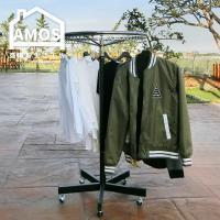 【Amos】專業旋轉超耐重鐵腳衣架