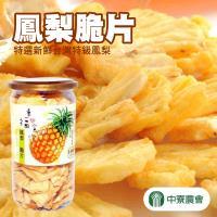 【中寮農會】鳳梨脆片(110g/罐)x2瓶組