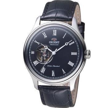 ORIENT 東方錶 SEMI-SKELETON 系列小鏤空機械錶 FAG00003B