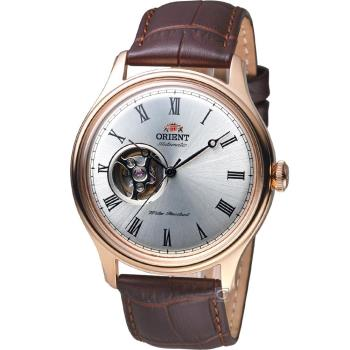 ORIENT 東方錶 SEMI-SKELETON 系列小鏤空機械錶 FAG00001S