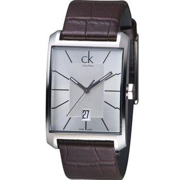 Calvin Klein Window 系列經典設計腕錶 K2M21126