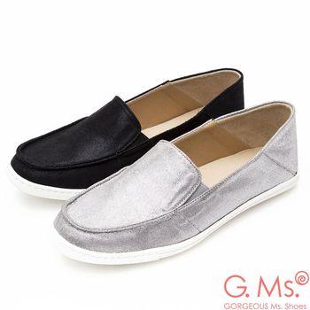 G.Ms. MIT系列-金屬光點懶人休閒鞋-2色