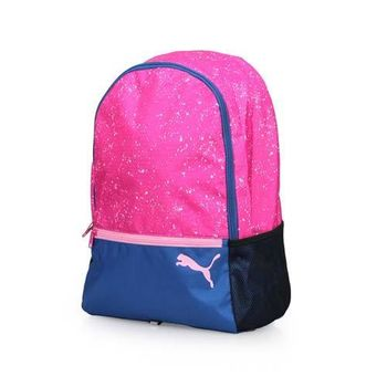 PUMA ALPHA 後背包 -雙肩包 電腦包 旅行包 15吋筆電 紫丈青