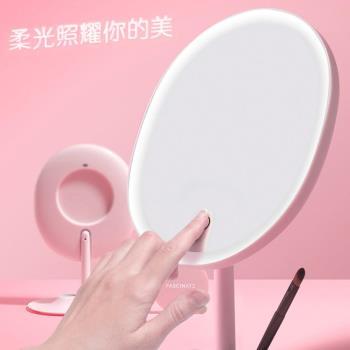 inMirror 輕智能 1:1臉型化妝鏡 柔光 補妝鏡 補光鏡 放大鏡 彩妝鏡子 桌上鏡子