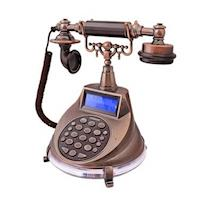 WONDER旺德(仿古懷舊風)來電顯示電話機,WT-04