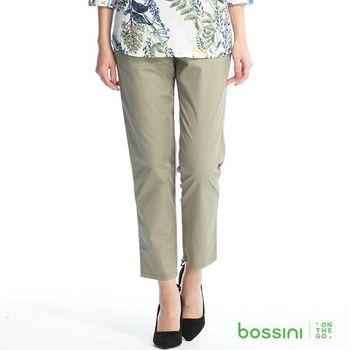 bossini女裝-素色卡其褲11淡褐