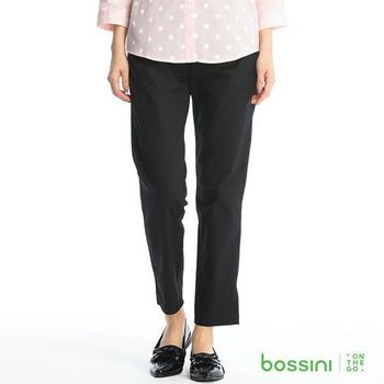 bossini女裝-素色卡其褲11黑
