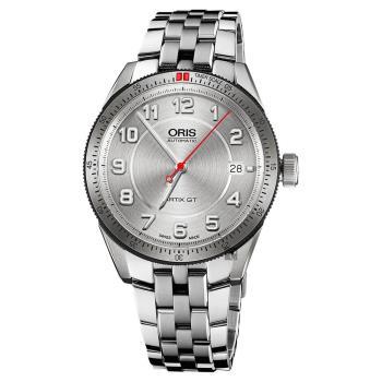 Oris 豪利時 Artix GT日期機械錶 銀 37mm 0173376714461-0781885
