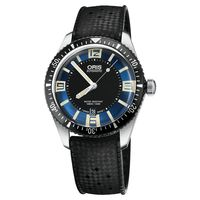 Oris豪利時 Divers Sixty~Five 1965潛水機械錶 藍x黑 40mm