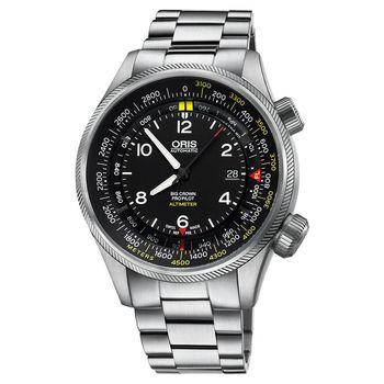 Oris豪利時 Big Crown ProPilot 高度儀飛行機械錶 47mm 0173377054164-0782319