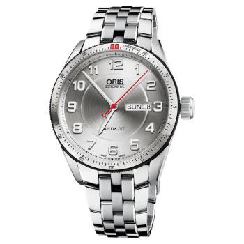 Oris 豪利時 Artix GT Day Date 機械錶 銀 42mm 0173576624461-0782185