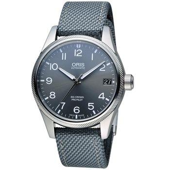 ORIS 豪利時 Big Crown ProPilot 系列飛行機械腕錶 0175176974063-0752017FC