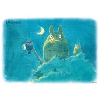 【進口拼圖】宮崎駿系列-龍貓 新月的晚上樹上吹陶笛 108片 108-218