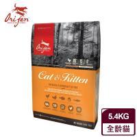 Orijen渴望 挑嘴貓配方 貓飼料 成幼貓專用 野牧鮮雞+鮮魚 5.4公斤/12LB*1包