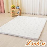 LooCa 棉柔5cm天然乳膠床墊(雙人5尺)