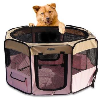 【寵物貴族】歐美熱銷正品八角形超寬敞摺疊寵物圍籠/寵物窩/狗籠_大 $2280