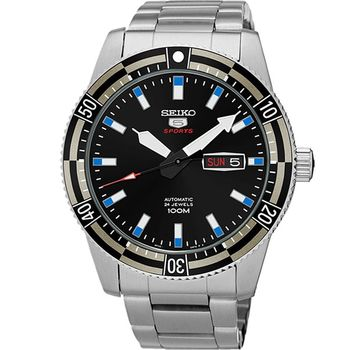 SEIKO 精工5號運動型機械錶  4R36-04P0D SRP733J1