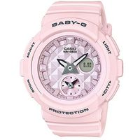 【CASIO】BABY-G 立體鉚釘設計粉嫩春天休閒錶-粉紅 (BGA-190BE-4A)