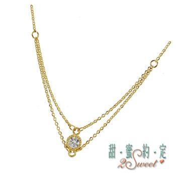 甜蜜純金項鍊NCS204