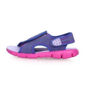 NIKE SUNRAY ADJUST 4-TD女嬰孩涼鞋-童鞋 兒童 淺紫粉