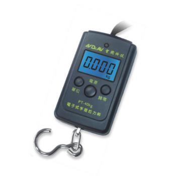 聖岡 迷你輕巧電子式手提拉力秤/電子秤 PT-40kg ~1組2個