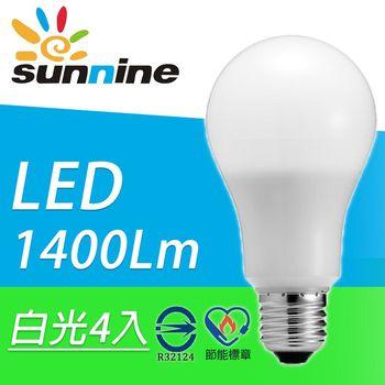 旭創光電LED電光火炮13W 燈泡 4入(白光/黃光)
