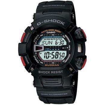 【CASIO】G-SHOCK 馬力歐越野賽車錶- 黑 (G-9000-1)