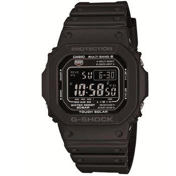 【CASIO】G-SHOCK 經典款原型5600進化版電波錶- 黑 (GW-M5610-1B)