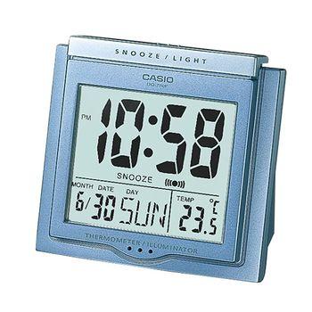 【CASIO】方形大字幕數位鬧鐘 (DQ-750F-2)