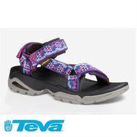 TEVA Terra Fi 4 多功能運動織帶涼鞋 女(TV1004486PPRPL)