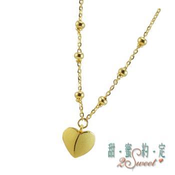 甜蜜純金項鍊NCS200