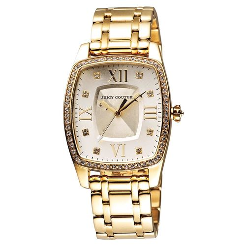Juicy Couture Beau 甜祕密晶鑽手錶 32x44mm J1900974