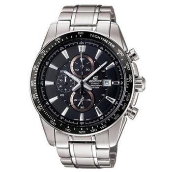 【CASIO】EDIFICE 智慧時尚品味新計時腕錶- 黑 (EF-547D-1A1)
