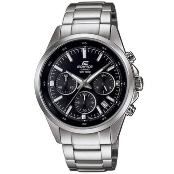 CASIO卡西歐 競速賽車三眼計時時尚腕錶 EFR-527D-1A