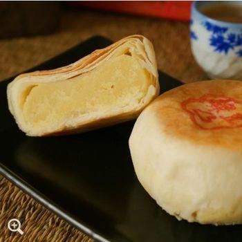 【鹿港鄭玉珍】 傳統綠豆凸6入禮盒x1盒(葷食)