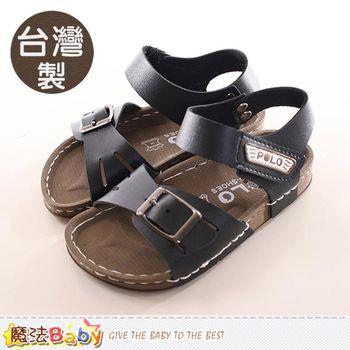 魔法Baby 童鞋 台灣製POLO授權正版兒童涼鞋~sk0127