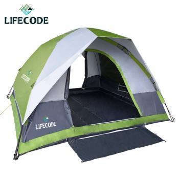LIFECODE立可搭豪華雙門5-6人雙層速搭帳篷(綠色)