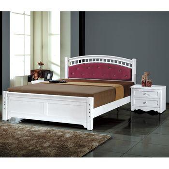 【時尚屋】[MT7]艾利克5尺雙人床MT7-186-1不含床頭櫃-床墊/免運費/免組裝