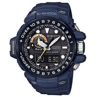 【CASIO】G-SHOCK 專業行家海軍風設計概念電波錶-藍 (GWN-1000NV-2A)
