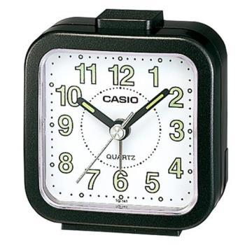 【CASIO 】桌上型指針鬧鐘-黑 (TQ-141-1)